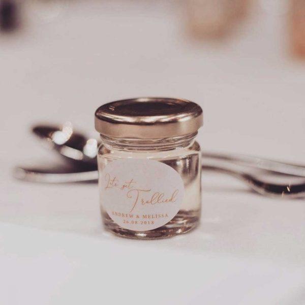 Shot Jar Wedding Favour